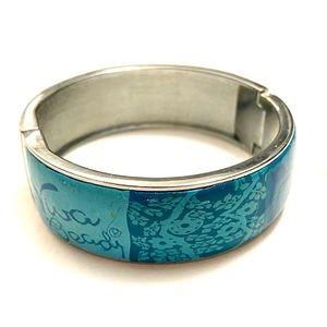 VIVA Beads Blue Silver Bracelet